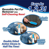 Magic Fur Brush - SAVE 50% TODAY Pet Hair & Lint Magic Remover - Grr Cats