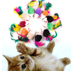 10 Mouse Toy For your Cat toy - Grr Cats