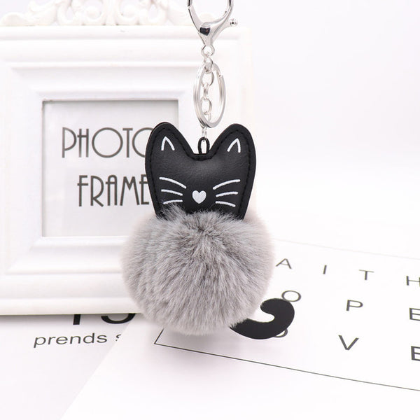 Cat Head Doll Keychain Cat Head Doll Keychain - Grr Cats