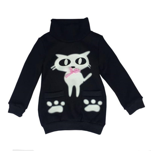 New Children Sweatshirt children sweatshirt - Grr Cats