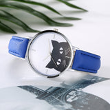 Casual Black Fashion Cat Watch watch - Grr Cats