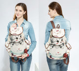 Lovely Casual Backpack bag - Grr Cats