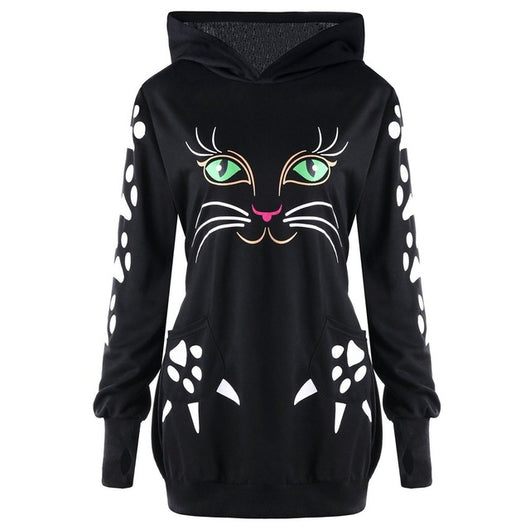 Lady Cat Sweatshirt Sweatshirt - Grr Cats