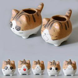 LITTLE KITTY CAT PLANTER POTS planter pots - Grr Cats