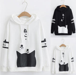 Spring Pullover Hoodies - Grr Cats