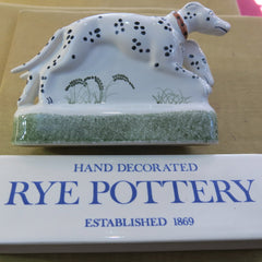 Rye Pottery animal figures, hand painted & made in Rye, Sussex