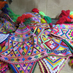 Peruvian knitted hats