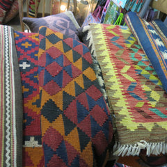 Colourful Afghan Kelims
