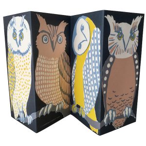 SINGLE CARD - Cambridge Imprint - Owls