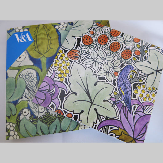 V&A Voysey Birds Notecard Pack