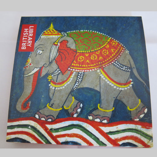 British Library Caparisoned Elephant Notecard Pack