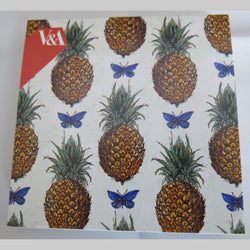 V&A Pineapples & Butterflies Notecard Pack