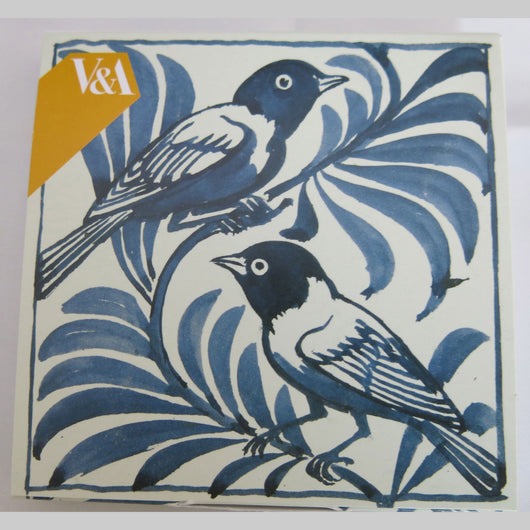 William De Morgan 'Weaver Birds' Notecard Pack