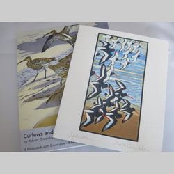 Curlews and Oystercatchers Notecard Pack