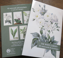 The White Garden - Notecard Pack