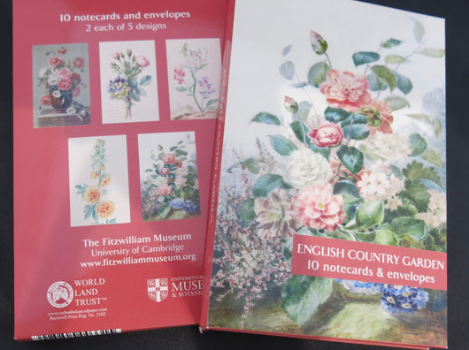English Country Garden Notecards