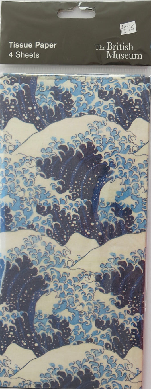 TISSUE PACK. The Great Wave.