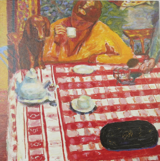 SINGLE CARD. Pierre Bonnard,