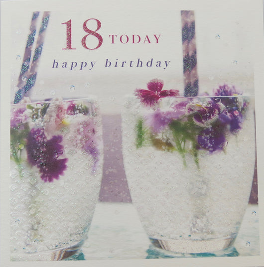 SINGLE CARD - 18th Birthday