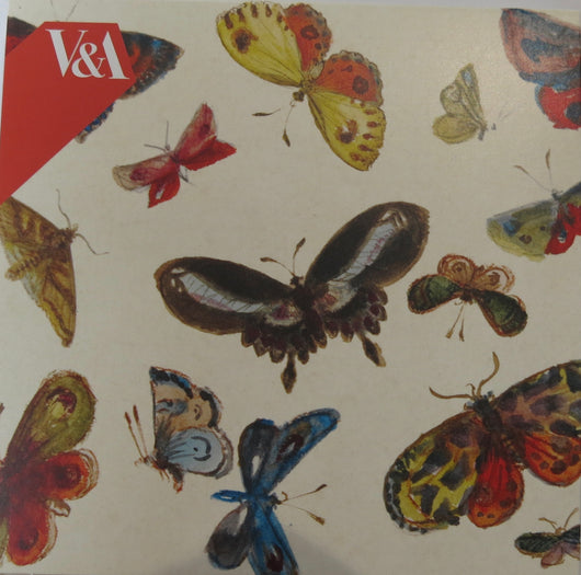 Notecard Pack. V & A Butterflies.