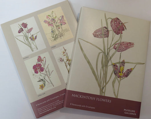 Notecard Pack. Mackintosh Flowers