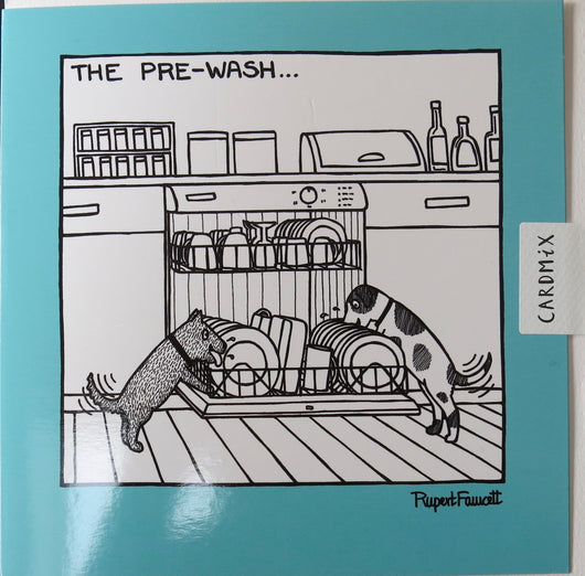 SINGLE CARD - Off The Leash - Dishwasher