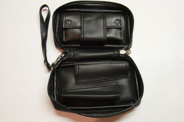 Black Two Pipe Pouch