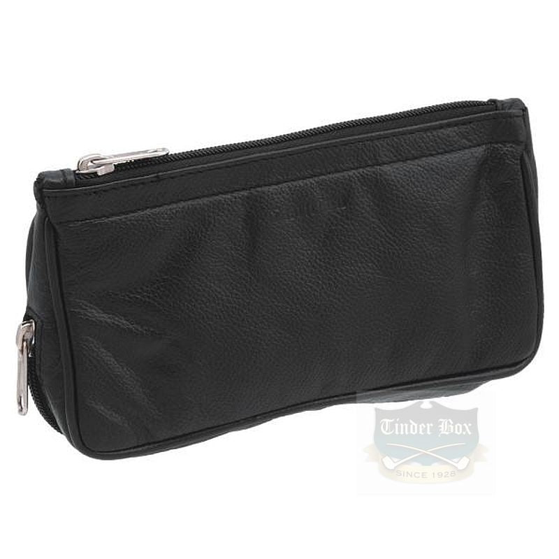 Castleford Leather Two Pipe combo Pouch