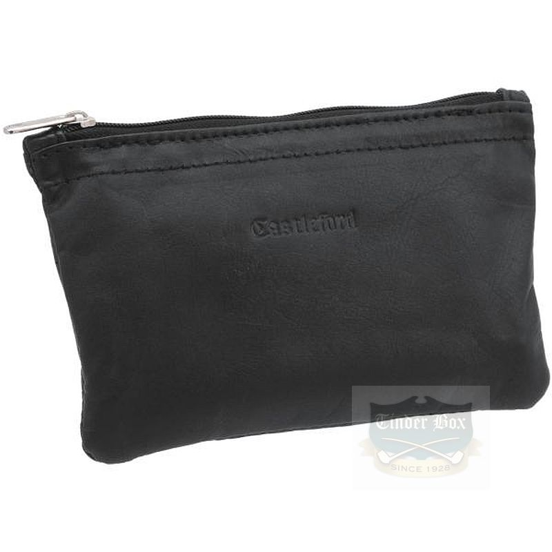 Castleford Leather Zipper Pouch