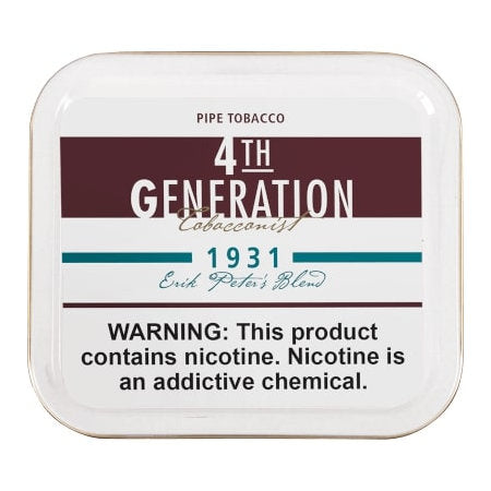 4th Generation 1931 Flake Tobacco 3.53 oz.