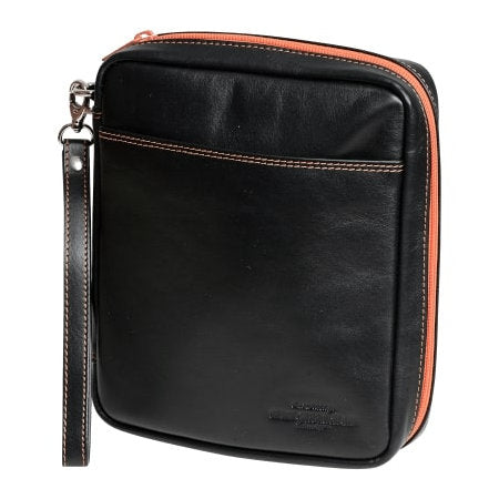 4th Generation Leather 4 Pipe Kenzo Black Pouch