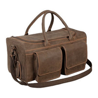 4th Generation Leather Duffle Bag