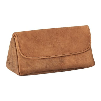 4th Generation Leather 1 Pipe Hunter Brown Pouch