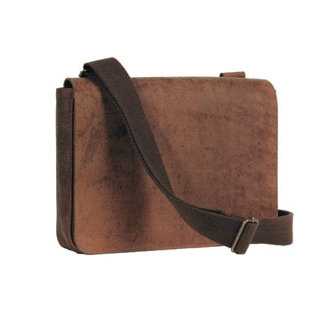 4th Generation Leather Messenger Bag Hunter Brown