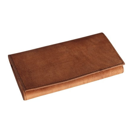 4th Generation Leather Rollup Hunter Brown Pouch