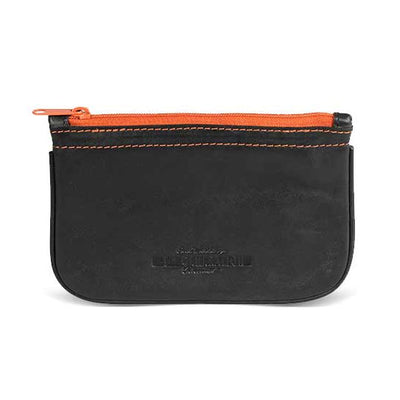 4th Generation Leather Kenzo Black Zip Pouch