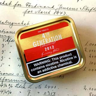 4th Generation 2012 Flake Tobacco 3.5 oz.