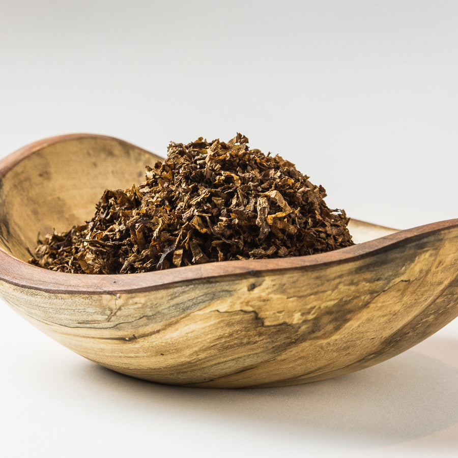 Aalborg Tinder Box Pipe Tobacco in Bowl