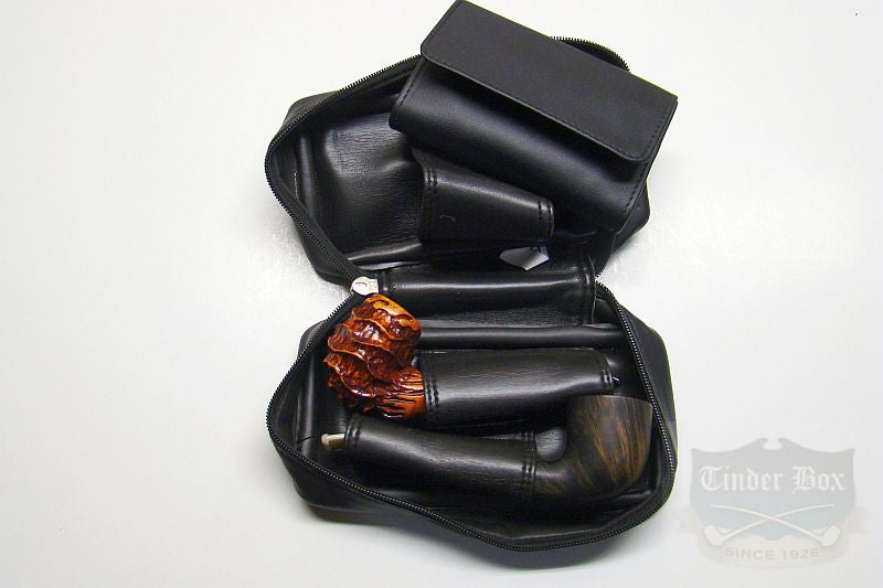 Castleford Leather Two Pipe Pouch