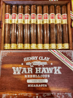 Henry Clay War Hawk Rebellious Limited Edition (Crop year 2016)