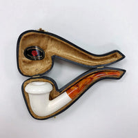 Servi Meerschaum Bent Smooth