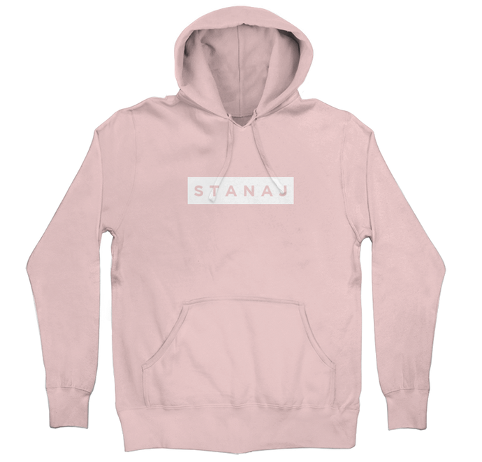 PULLOVER HOODIE - LIGHT PINK