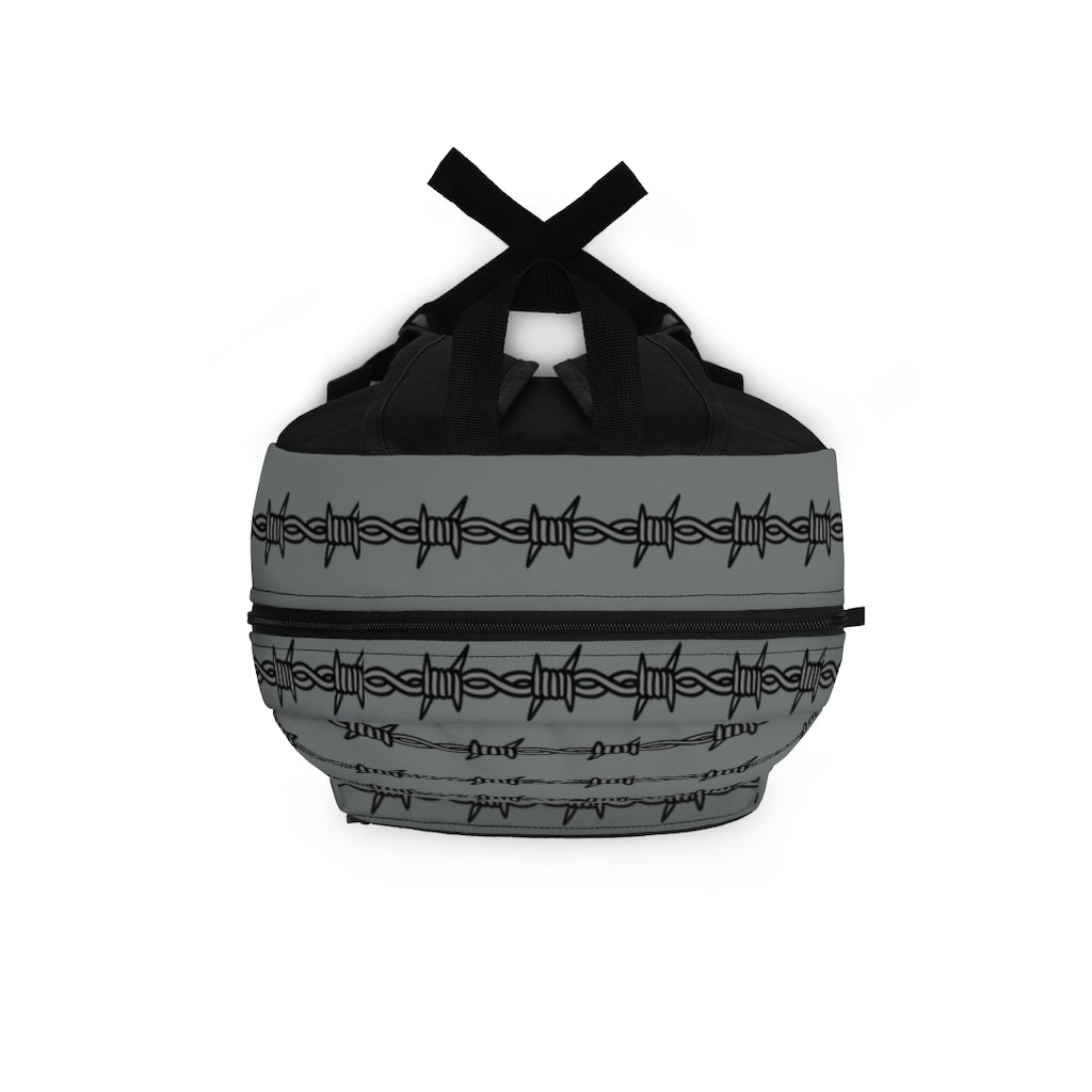 Barbed Wire Backpack Tattoo Inspired