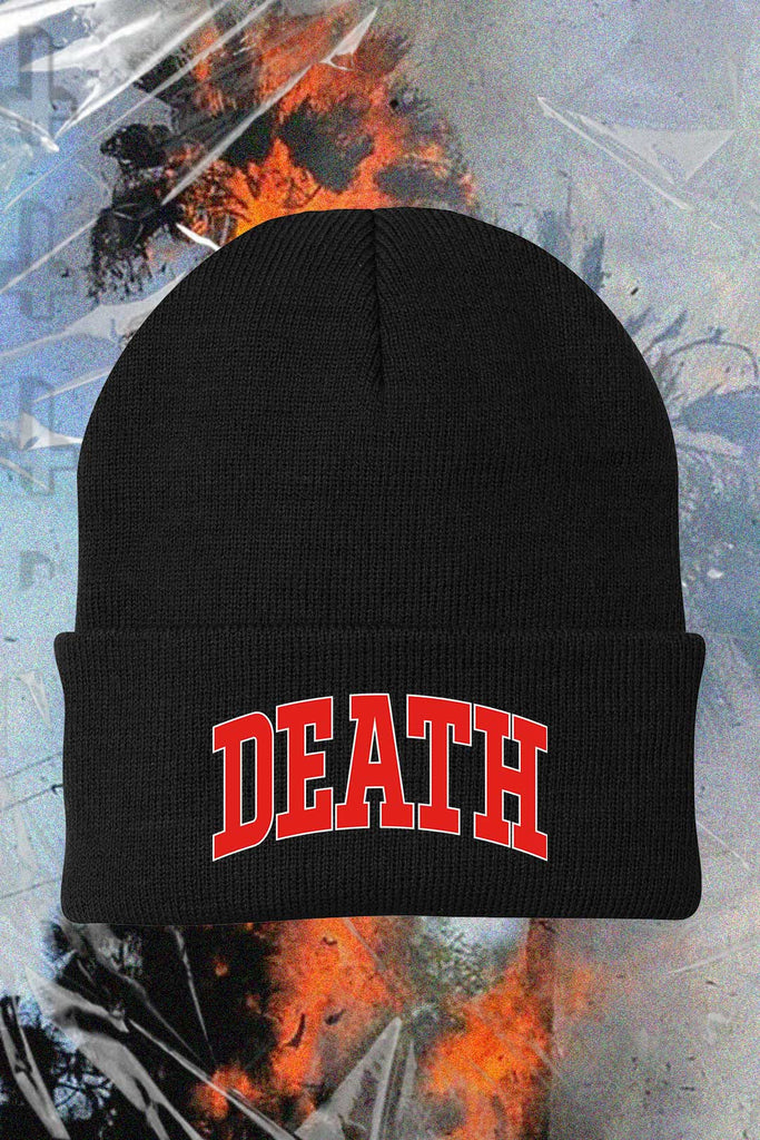 Death Beanie Goth Inspired