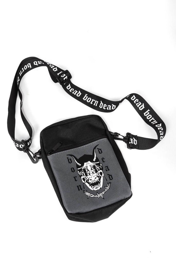 Born Dead Tattoo Inspired Flight Bag