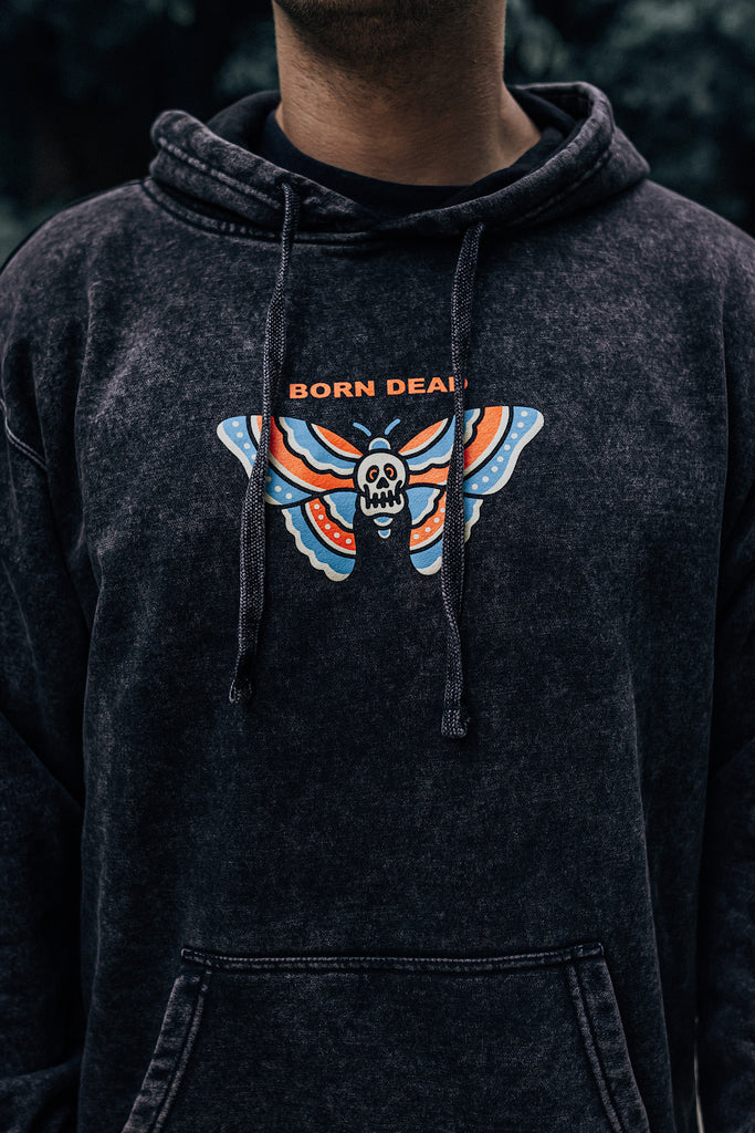 Death Moth🦋 Tattoo Inspired Hoodie