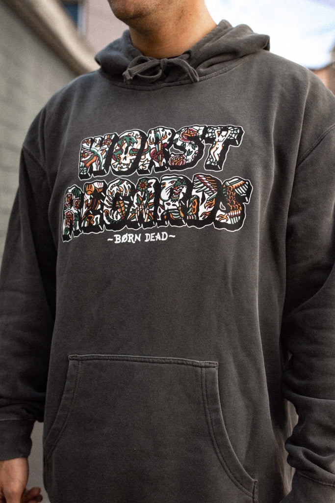 Worst Regards Tattoo Inspired Hoodie