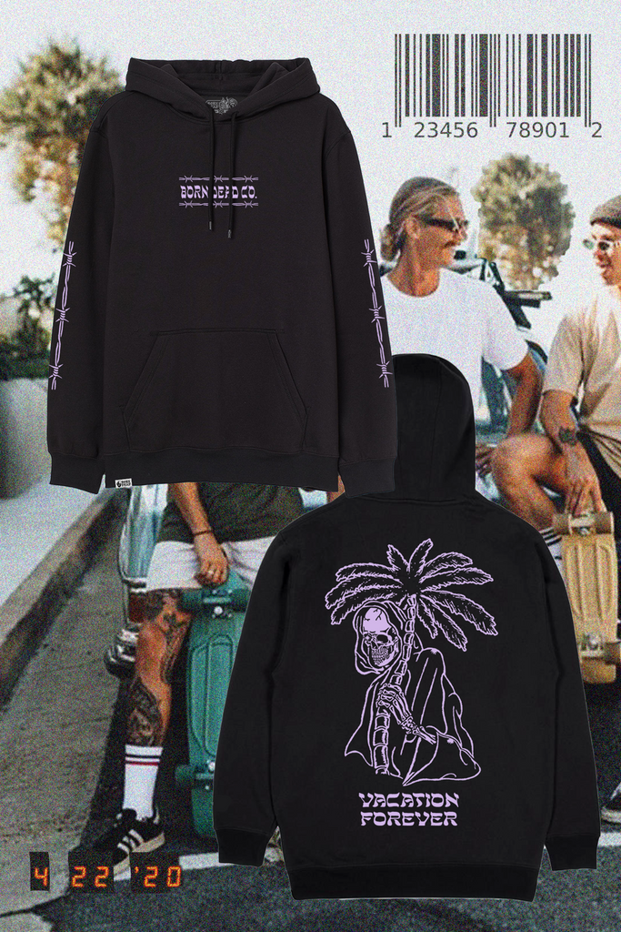 Vacation Forever Tattoo Inspired Hoodie