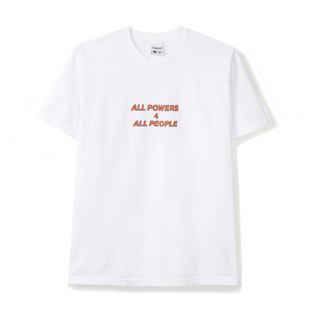ALL POWERS 4 ALL PEOPLE SS TEE