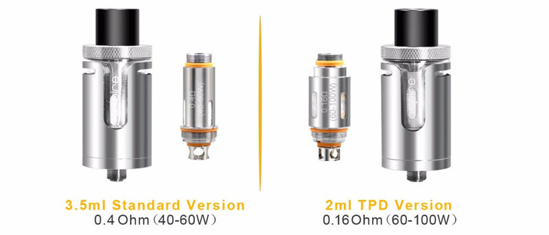 Aspire Cleito EXO Tank Standard/TPD Version